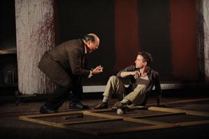 Edward Gero as Mark Rothko and Patrick Andrews as Ken. Photo by Liz Lauren.