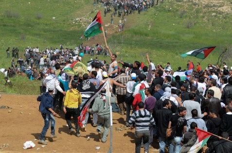 Arabs protest on 'Nakba Day'