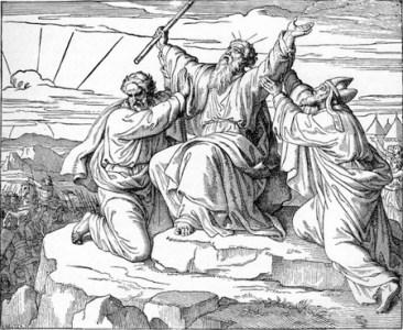 Battling the Amalekites