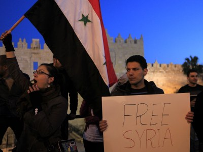 Demonstrations for Syria