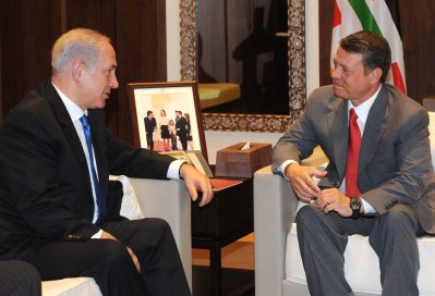 PM Netanyahu and Jordanian King Abdullah II