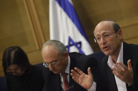"Kadima MK Otniel Schneller, co-sponsor of newly-passed ""Sanctions Law"""