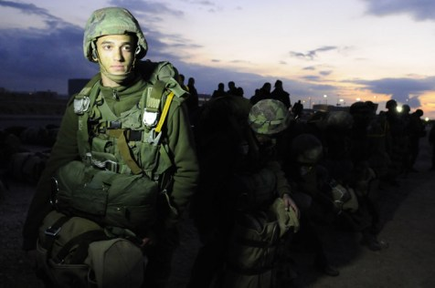 IDF Paratroopers training to defend the Jewish people.