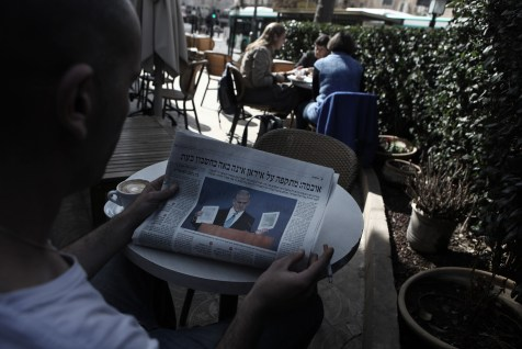 An Israeli reading about the ongoing confrontation over Iran's nuclear program