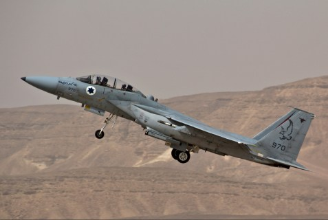 Israeli F-16 fighter jet