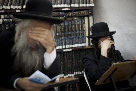 Orthodox Jews Praying