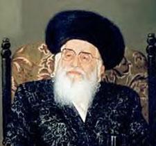 """Bnei Brak Vishnitzer Rebbe, zt""""l"""