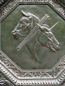 Ephraim & Menache plaque (1930) Temple Emanuel, New York