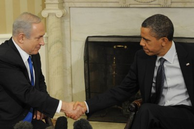 PM Binyamin Netanyahu meets with President Barack Obama