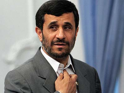 President of the Islamic Republic of Iran Mahmoud Ahmadinejad