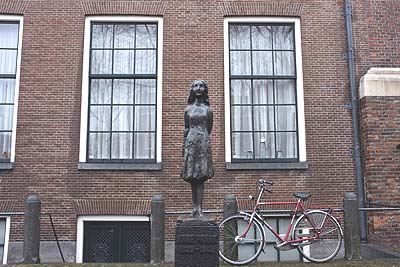 The Anne Frank house in Amsterdam.