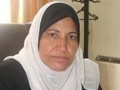 Member of Fatah's central committee in Gaza Amal Hamad.