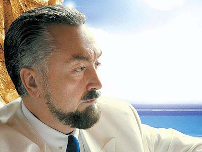 Prominent Turkish intellectual and religious leader Adnan Oktar.