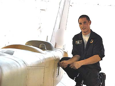 Brad had to convince his commanders that his Hebrew was good enough to study for his dream job: working on fighter aircraft.