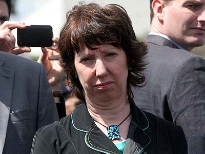 Foreign Minister of the European Union Catherine Ashton represented the major powers in nuclear negotiations with Tehran.