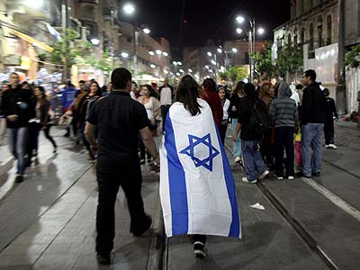 Police are prepared to keep the peace while Israelis are getting ready to wrap themselves in the flag, come Independence Day 64, Wednesday night.
