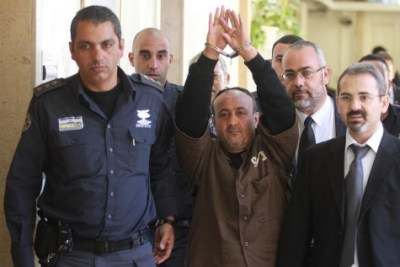 Terrorist leader Marwan Barghouti, remains wildly popular among Palestinian Authority citizens despite being imprisoned for life.