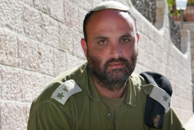 IDF Lieutenant Colonel Shalom Eisner, who was filmed butting a Danish ISM activist with his weapon on Saturday