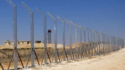 The border fence between Israel and Egypt has been bolstered recently, in response to the deteriorating relationship between the two countries.