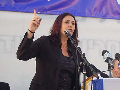 MK Miri Regev promised concrete legislation to permanently remedy the problem of dubious Palestinian claims against Jewish residents.
