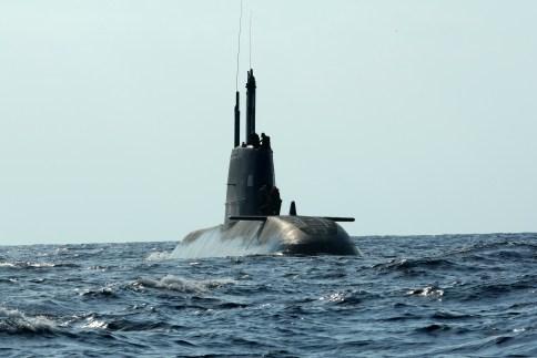 IDF Dolphin Submarine