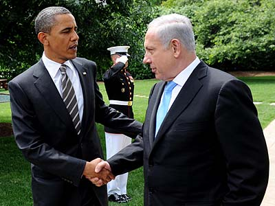 President Obama (with friend) is losing popularity with U.S. Jews.