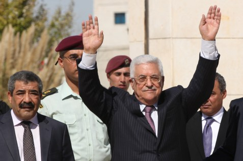 PA President Mahmoud Abbas