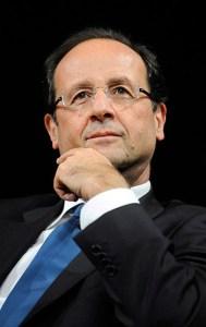 France's president-elect Francois Hollande