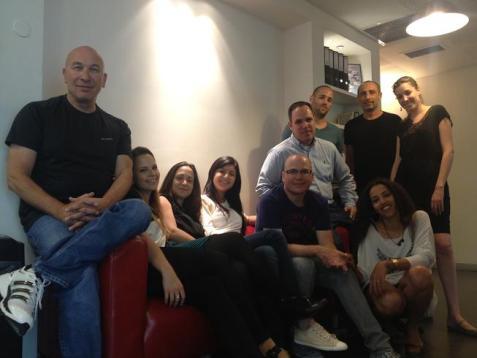 The team behind JobsMiner.com in the company's headquarters in Kiryat Ono, Israel.