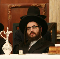 Rabbi Menachem Mendel Teitelbaum, Williamsburg Satmar Rav.