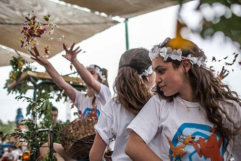 Shavuot on a Kibbutz
