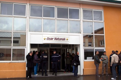 Ozar Hatorah, the Toulouse Jewish school where four Jews were murdered in March.