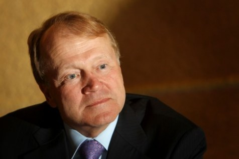 John Chambers, CEO of CISCO Systems, at the President&#039;s Conference in Jerusalem