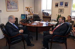 PM Netanyahu and Rabbi Shmuley