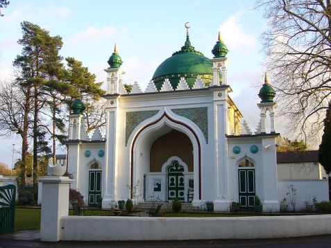 Shah Jahan Mosque, one of the oldest in the UK