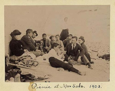 Picnic at Mar Saba, 1902