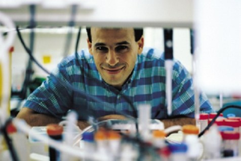 Prof. Atan Gross of the Weizmann Institute, one of the researchers that developed a new technique that could bring advances in cancer treatment