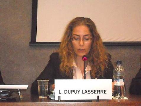 UNHRC president, Uruguay Ambassador Laura Dupuy Lasserre.