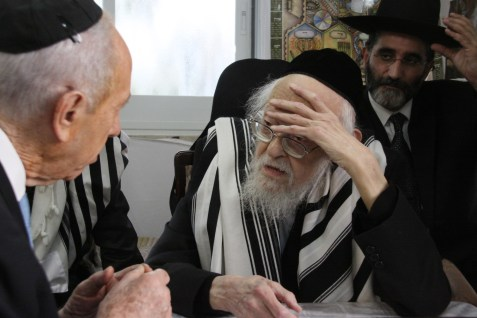 The late Rav Elyashiv.