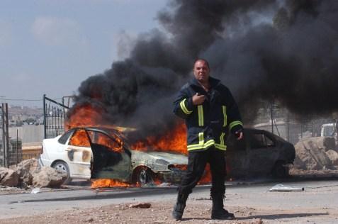 Terrorist car bombing