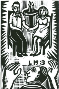 L 19:3 (2007), digital woodcut by David Holzman. Courtesy the artist.