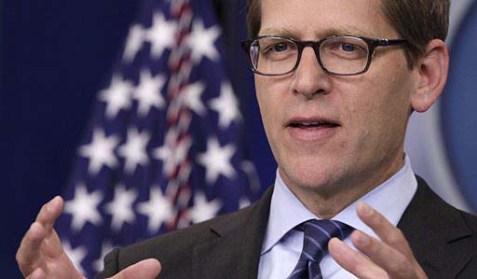 "White House Press Secretary James ""Jay"" Carney"