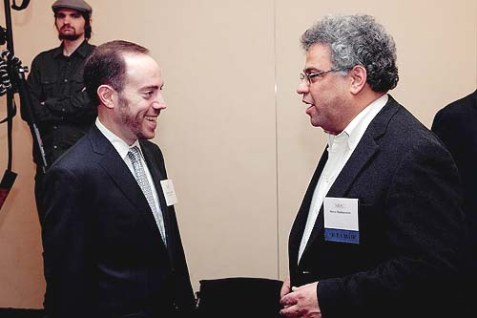 NJDC President and CEO David A. Harris and Vice Chair Steve Rabinowitz