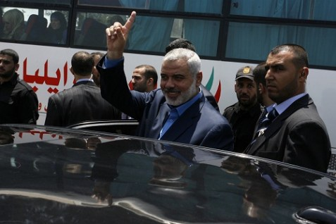 Ismail Haniyeh, Prime Minister of the Hamas regime in Gaza