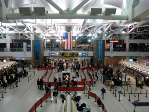 JFK Airport. Are IRS agents waiting for you there?