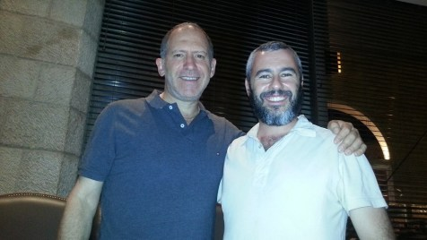 Kevin Burmeister and Yishai Fleisher