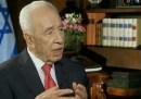 President Shimon Peres on Israel's Channel 2 News Thursday
