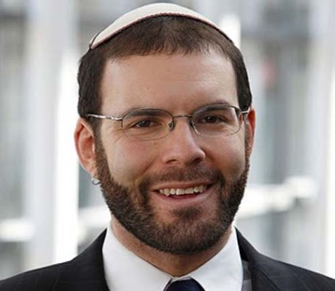 Rabbi Joseph Berman, Boston chair of Jewish Voice for Peace.