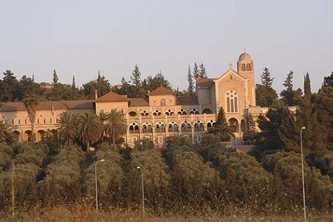 The Trappist Monastery in Latrun.