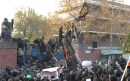 A mob of Iranian students stormed the British embassy in Tehran last November.